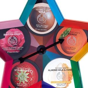 The Body shop 5 piece body butter gift set